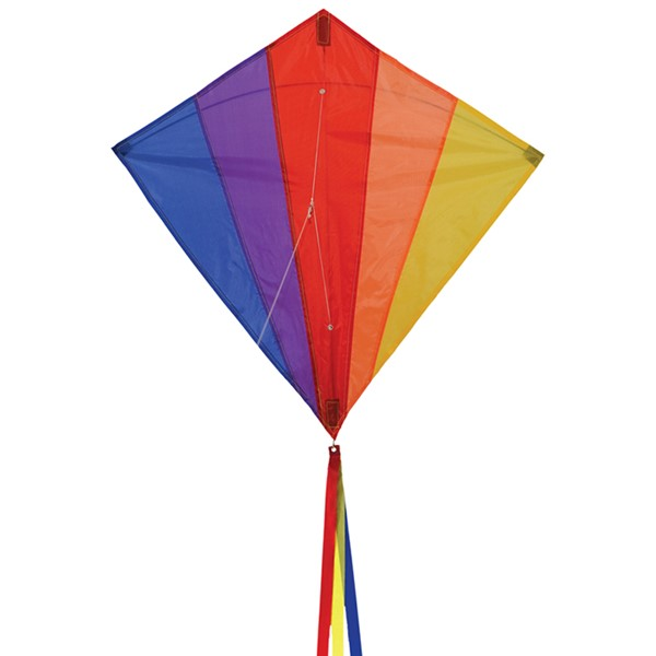 "View Rainbow 30"" Diamond Kite"