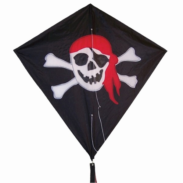 "View Jolly Roger 30"" Diamond Kite"