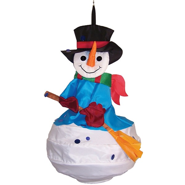 View Snowman Wind Friend
