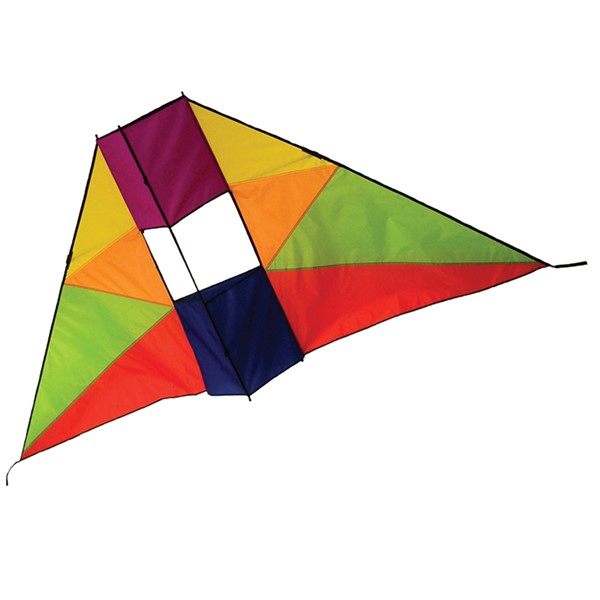 View Rainbow 6' Conyne Delta Kite