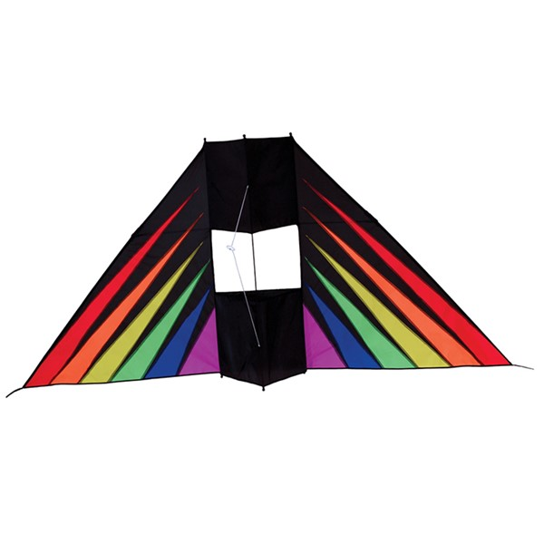 View Rainbow Burst 6' Conyne Delta Kite