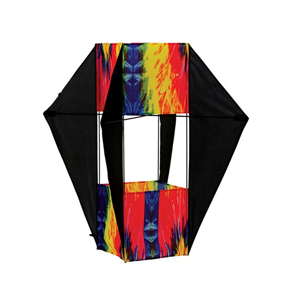 View Tie Dye Winged Box Kite