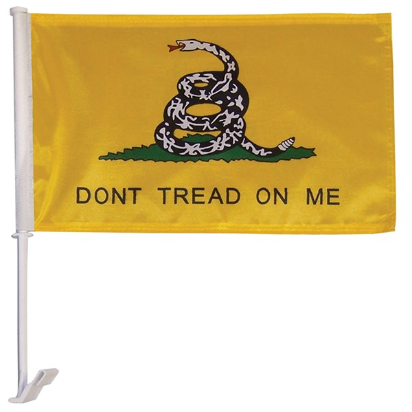 View Don't Tread On Me Car Flag*
