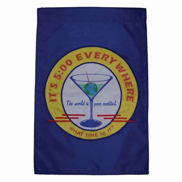 View Happy Hour Retro Garden Flag*