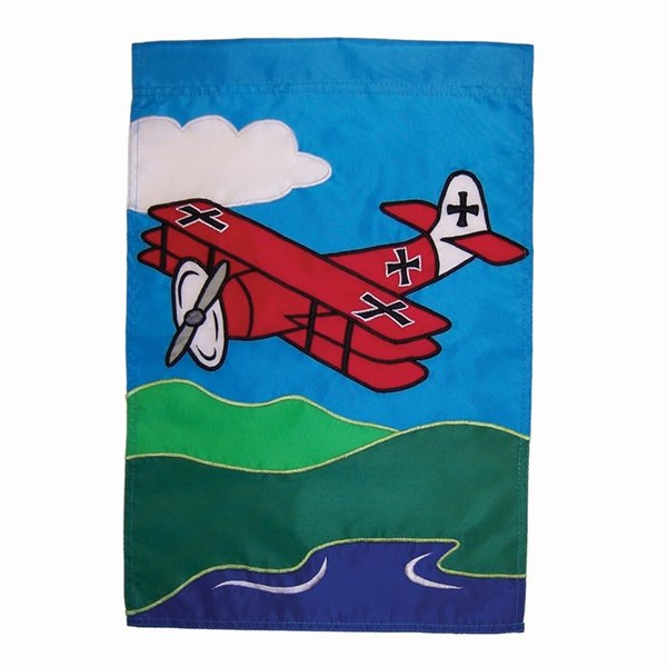 View Red Baron Garden Flag*