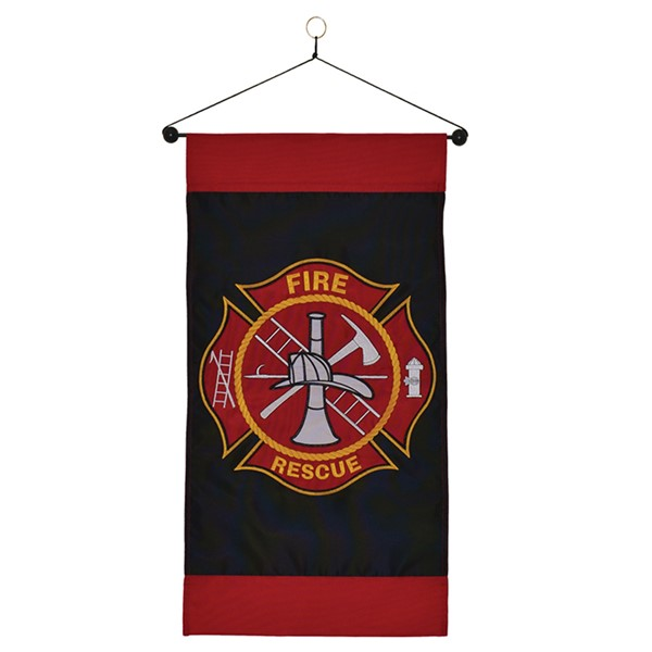 View Fire Rescue Hanging Banner*
