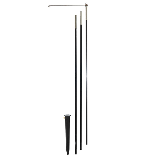 View 10 FT 3-Section Heavy Duty Pole with Swiveling Arm