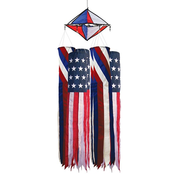 "View 40"" Patriot Windsock 24 PC Prepack"