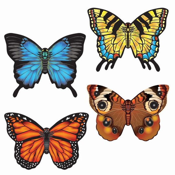 View Realistic Butterfly MicroKite 24 PC Assortment