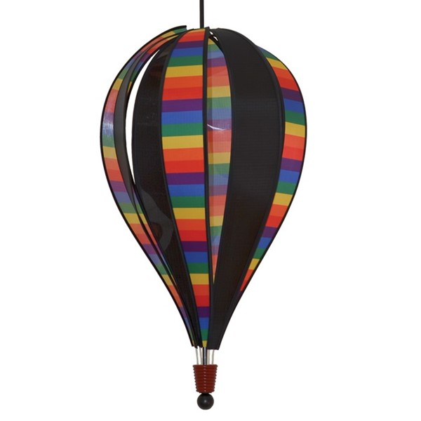 View Rainbow Stripe Next Generation 8 Panel Hot Air Balloon
