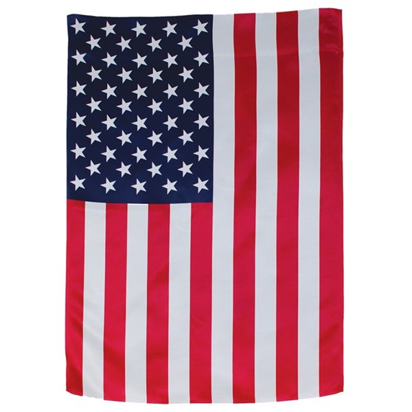 View U.S. Flag Lustre House Banner