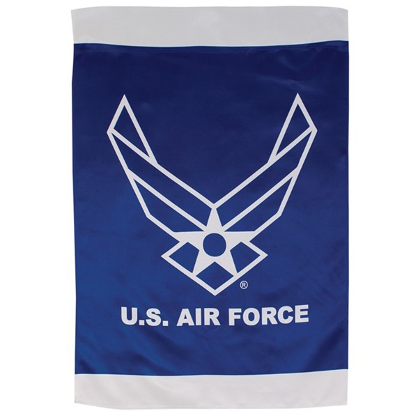 View U.S. Air Force Wings Lustre House Banner
