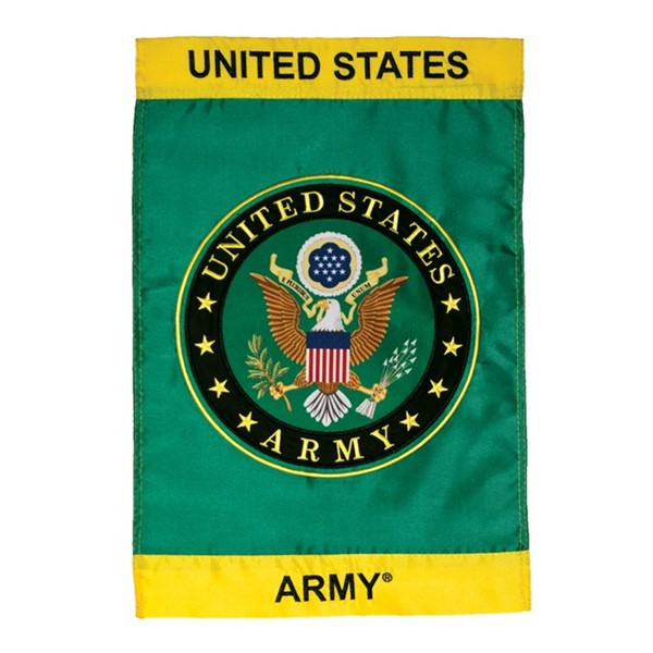 View U.S. Army Symbol Garden Flag