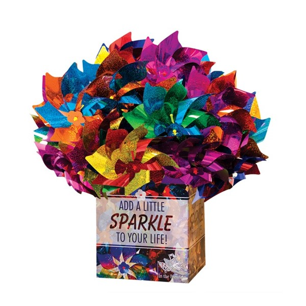 View Classic Rainbow Pinwheel 48 PC POP Display