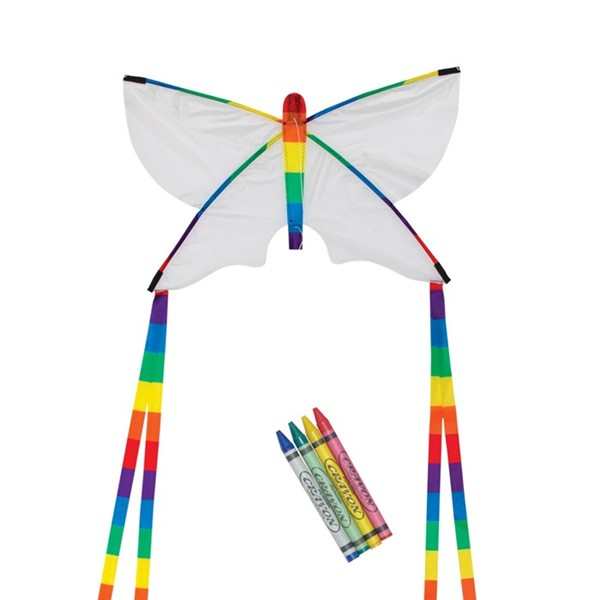 "View Butterfly 23"" Coloring Kite"