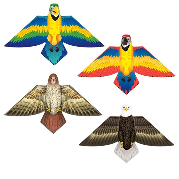 View Birds of a Feather Poly Kites - 12 PC Assortment
