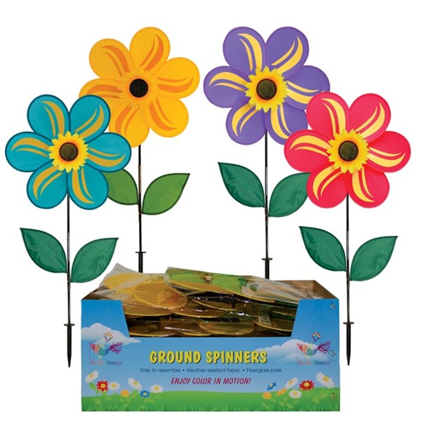 "View 19"" Mixed Color Sunflower Spinner 20 PC Display"
