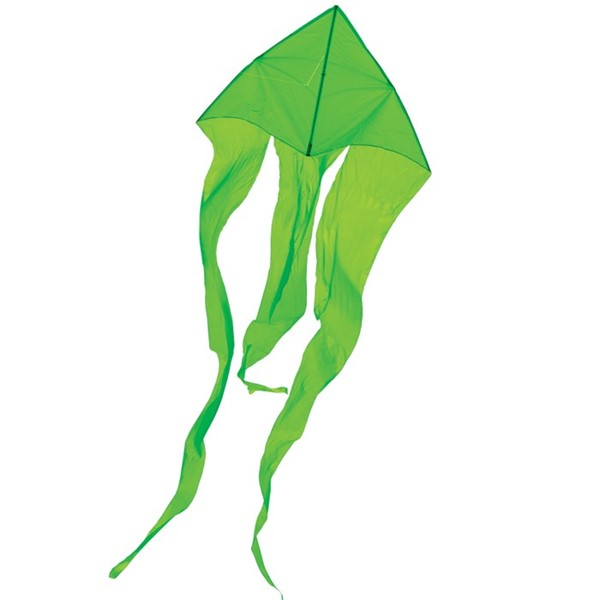 "View Green 77"" Wave Delta Kite"