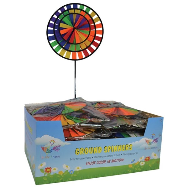View Rainbow Triple Wheel Spinner - 25PC POP