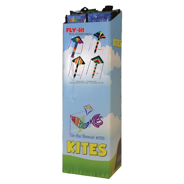 View Fly-Hi Kite Assortment - 20PC POP