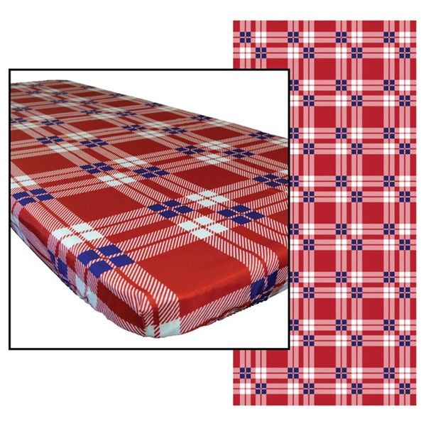 View Plaid 8' Tablecloth
