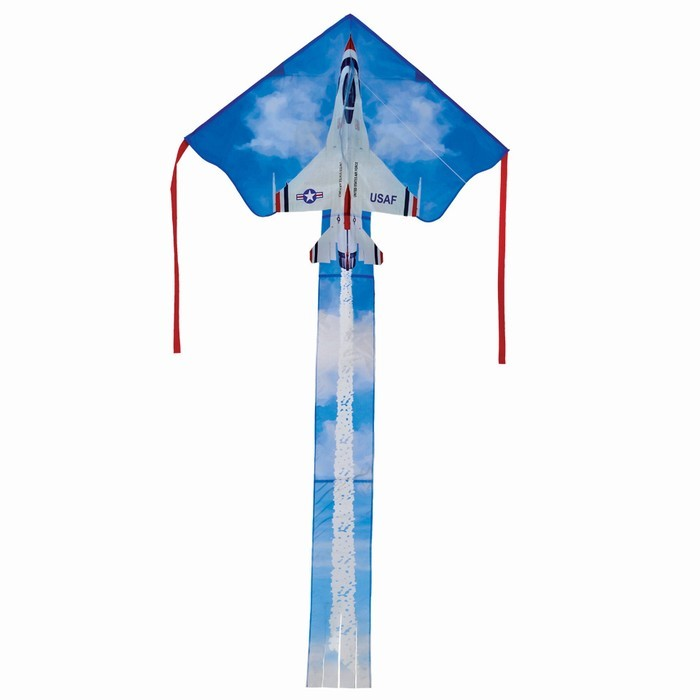 F-16 Thunderbird Fly-Hi Kite | In the Breeze