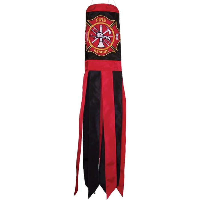 Fireman Logo 40 inch Windsock | In the Breeze