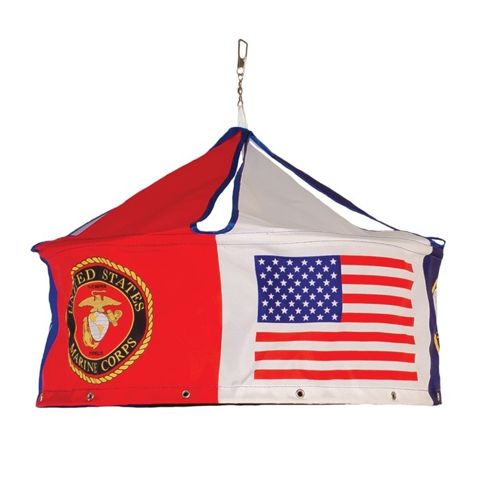U.S. Military Windsock Display | In the Breeze
