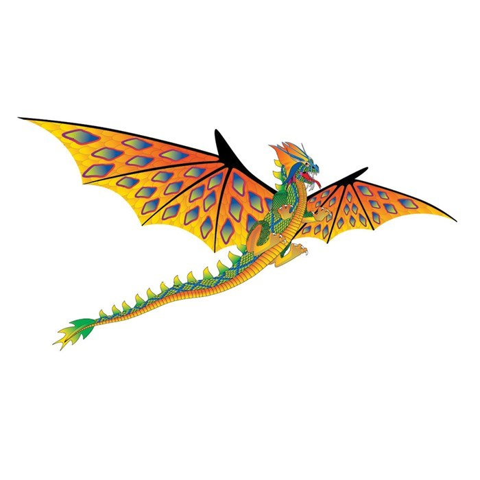 3D Supersize Dragon | In the Breeze