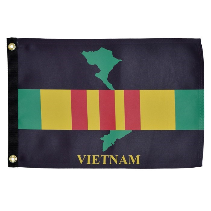 Vietnam 12x18 Grommet Flag | In the Breeze
