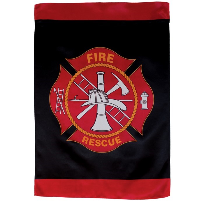 Fire Rescue Lustre House Banner | In the Breeze