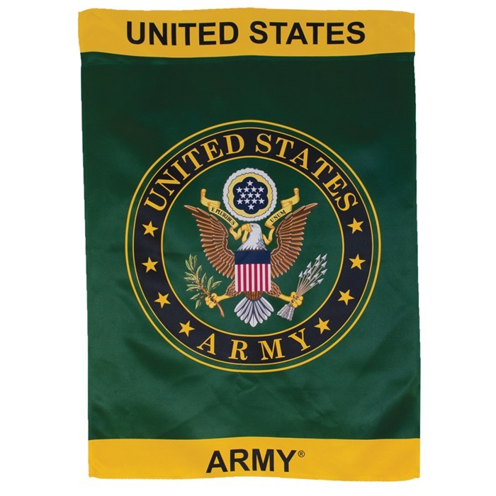 U.S. Army Symbol Lustre House Banner | In the Breeze