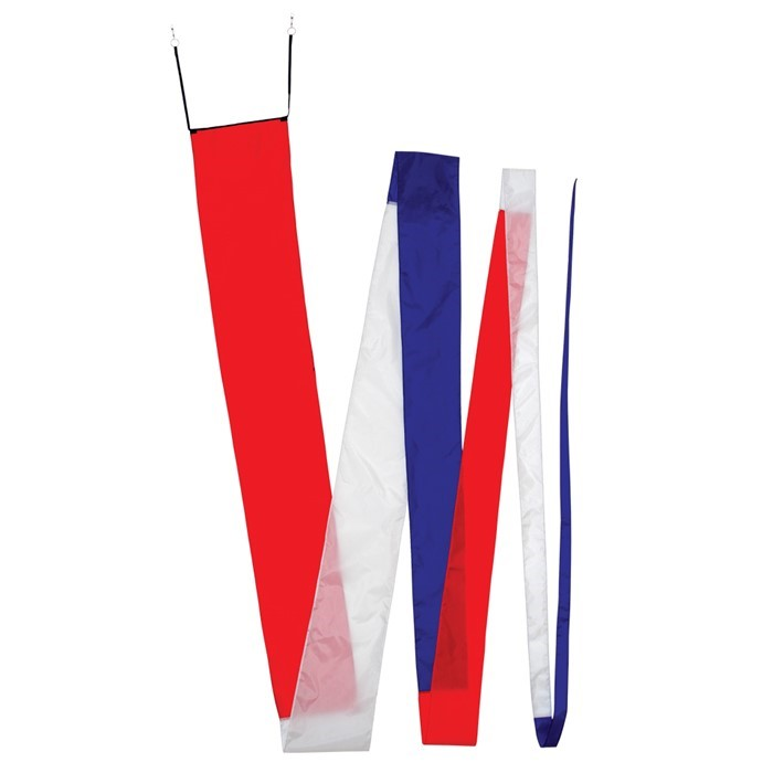 32' Red, White & Blue Streamer Tail | In the Breeze