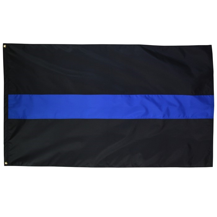 Thin Blue Line 3x5 Grommet Flag | In the Breeze