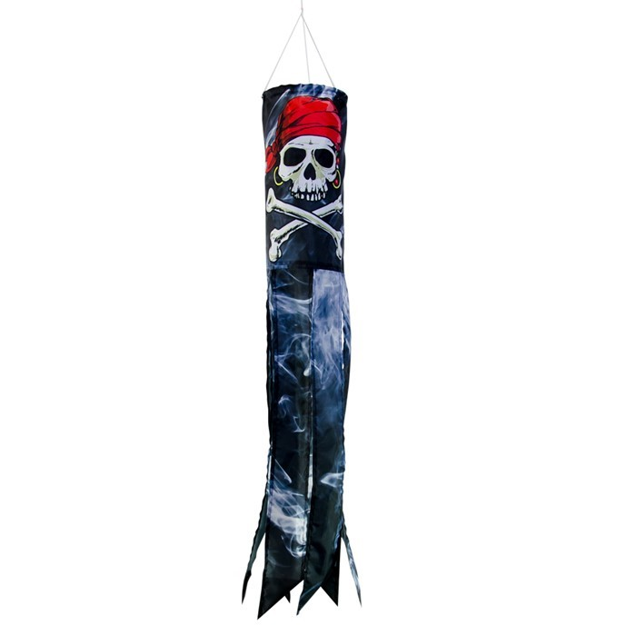 "Smokin' Pirate 30"" Windsock 
