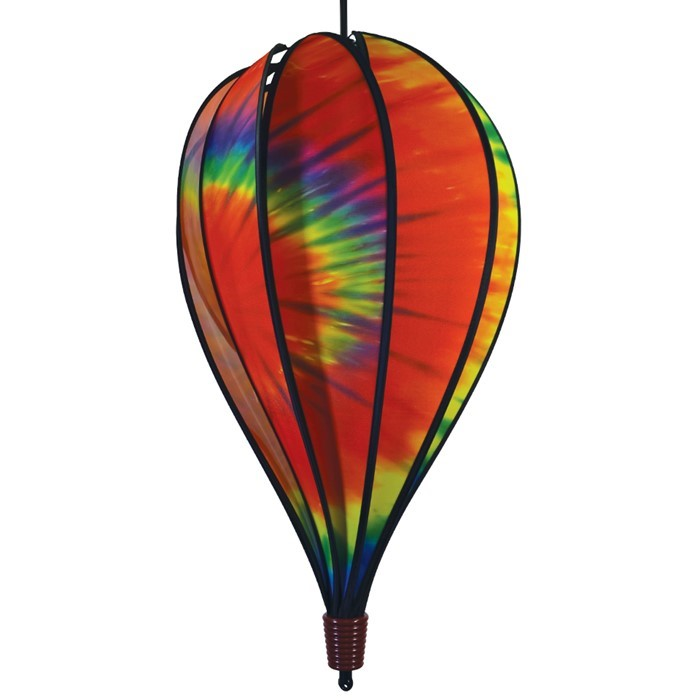 Tie Dye 10 Panel Hot Air Balloon Spinner | In the Breeze