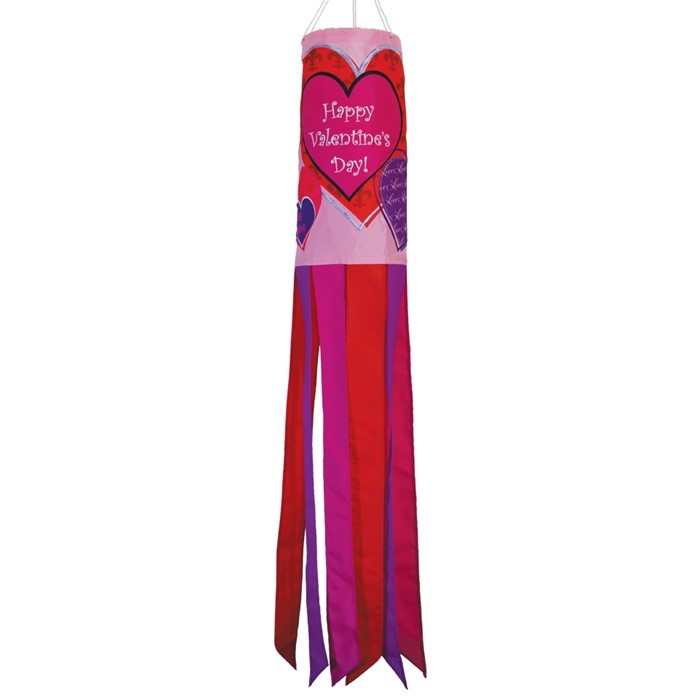"Valentine's Day 40"" Windsock 