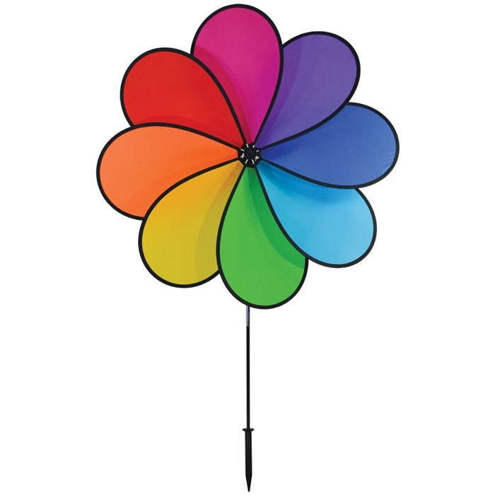 "41"" 8-Petal Rainbow Flower 