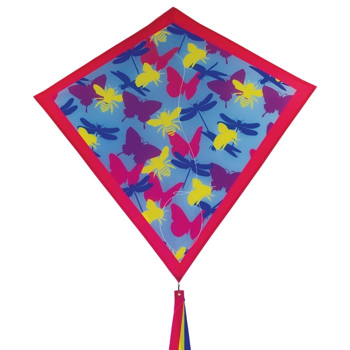 "Bugs Camouflage 30"" Diamond Kite 