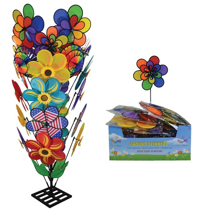 Large Flower Assortment with Store Display | In the Breeze
