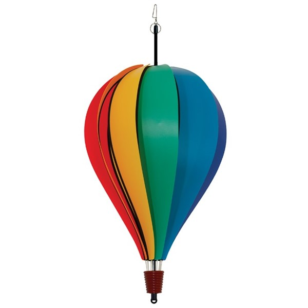 View Rainbow Poly 10 Panel Hot Air Balloon