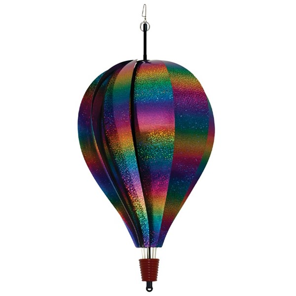View Rainbow Whirl 10 Panel Hot Air Balloon