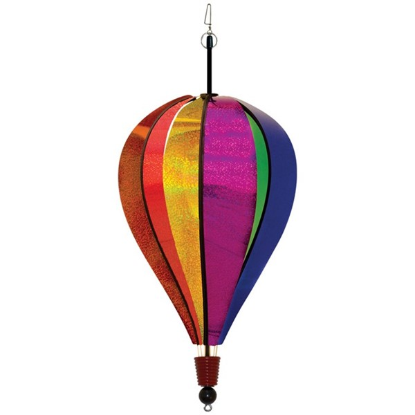 View Rainbow Glitter 6 Panel Hot Air Balloon
