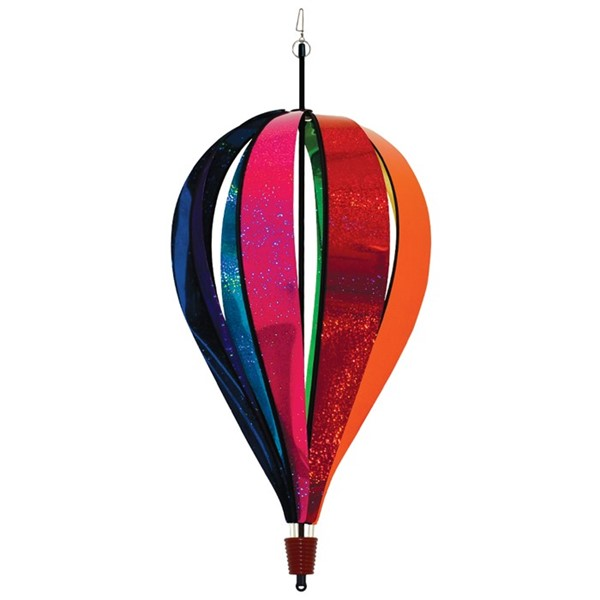 View Jumbo Rainbow Glitter 8 Panel Hot Air Balloon