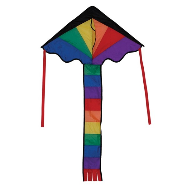 View Rainbow Fly-Hi Kite
