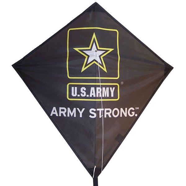 "View U.S. Army Logo 28"" Diamond Kite"