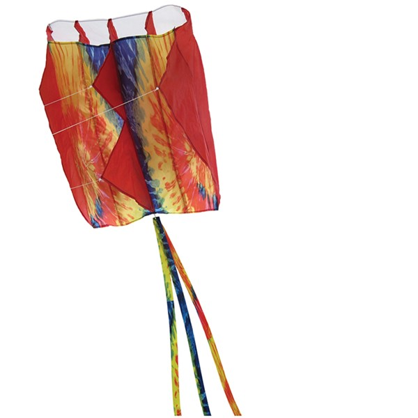 View 5.0 Tie Dye Red Air Foil Kite
