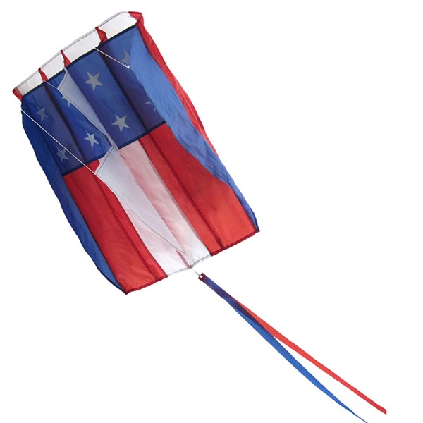 View 5.0 Stars and Stripes Air Foil Kite