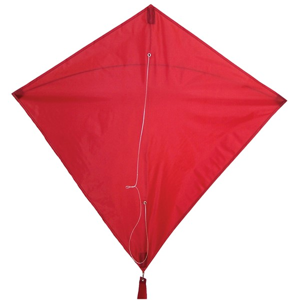"View Red Colorfly 30"" Diamond Kite"