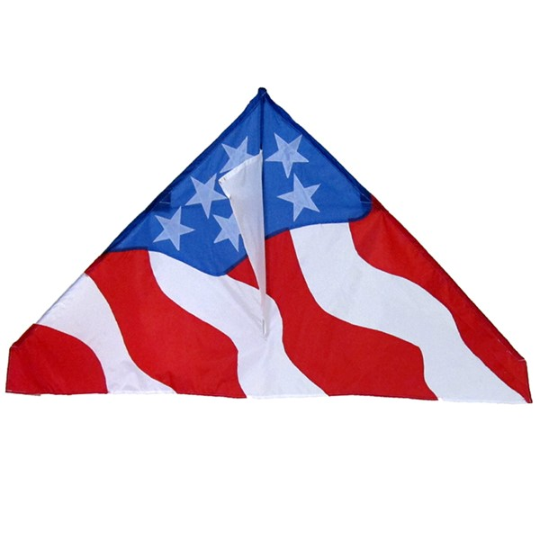 "View Patriotic 57"" Delta Kite"